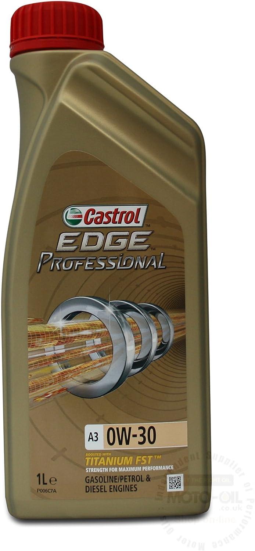 Castrol Edge Professional A3 0w 30 Schmieröl 1 L Cepa01 A3 Auto