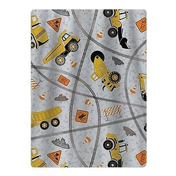 Toalla de baño para niños y niñas, diseño de camiones con dibujos animados: Amazon.es: Hogar