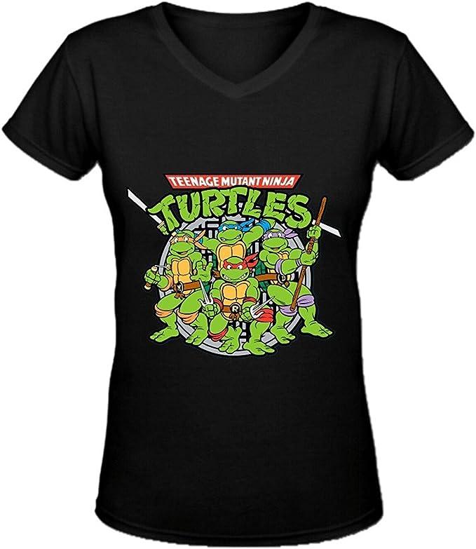 Amazon.com: lov-tshirts teenage mutant ninja turtles cuello ...