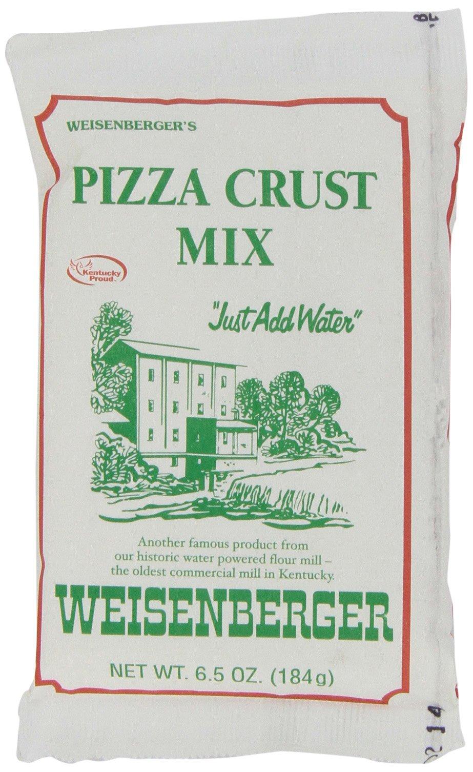 Weisenberger Pizza Crust Mix, 6.5-Ounce (Pack of 12)