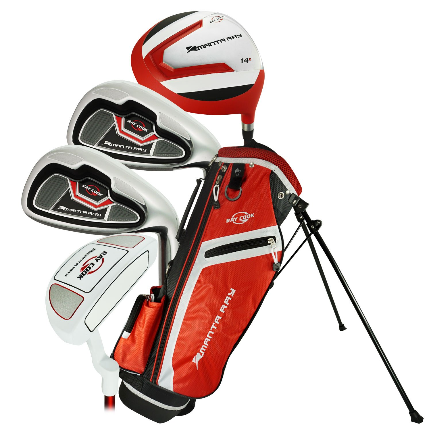 Ray Cook Golf LH 2017 Manta Ray 6 Piece Junior Set with Bag Ages 6-8 (Left Handed) by Ray Cook (Image #1)