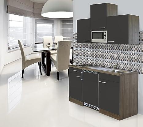 respekta Incasso Mini Single cucina Blocco cucina 180 cm legno York ...