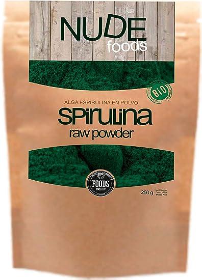 NUDE Foods Espirulina Ecológica Premium | Bio Certificada ...
