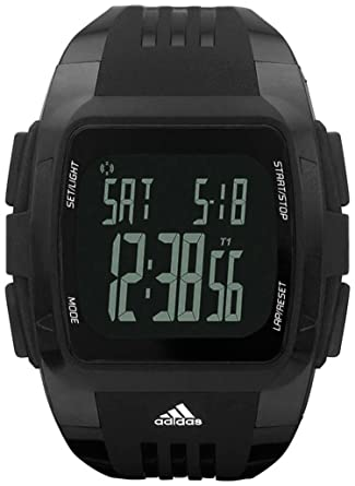 Adidas Performance Black Dial Black Polyurethane Mens Watch ADP6034