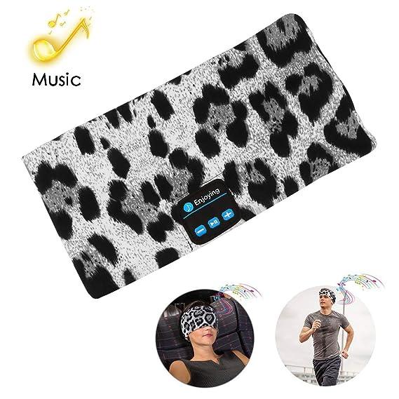 e29ec6f5f30 Bluetooth Headband Headphones,Wireless Bluetooth Headband Sleeping Running  Music Earphones Headband Sports Headset Built-