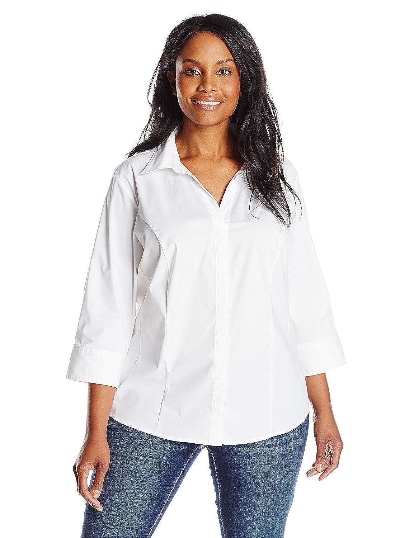 52 arfurt Women's Long Sleeve Button Down Casual Dress Shirt Business Blouse