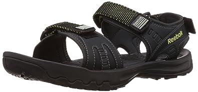 Reebok Men's Adventure Serpant Sandals and Floaters Men's Fashion Sandals at amazon