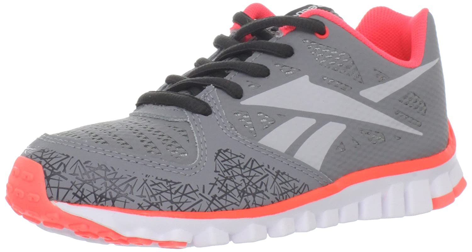 Reebok Realflex Transition 2.0 - Zapatillas de running de sintético para hombre Grey/Vitamin c/Gravel/Wht 39: Amazon.es: Zapatos y complementos