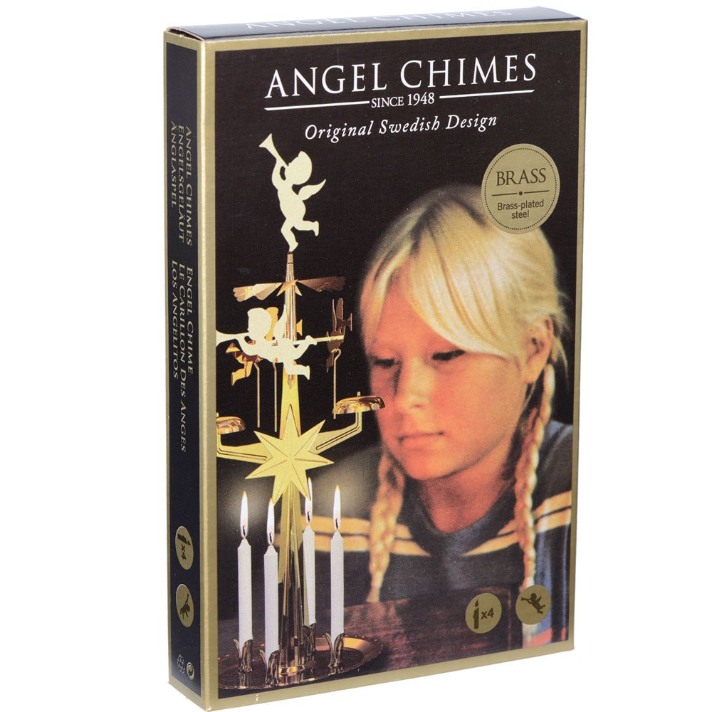 Angel Chimes brass plated Pyramid Aras Metal 9011B