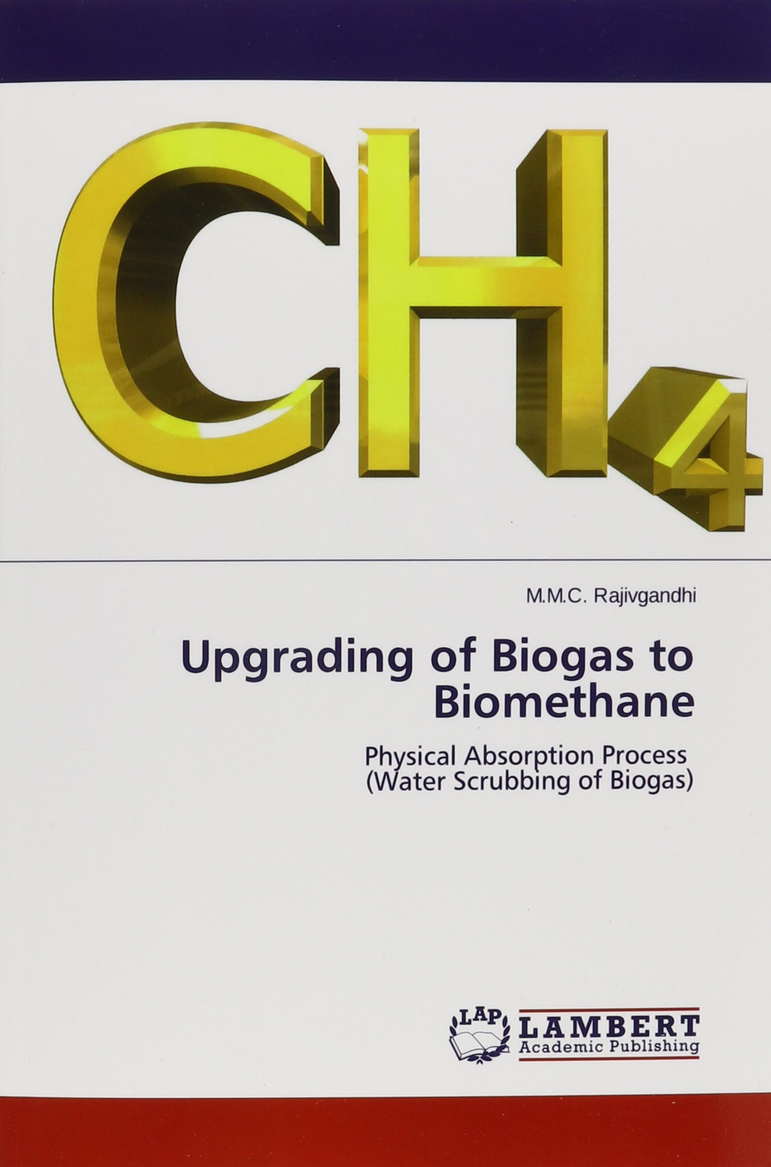 Buy Upgrading of Biogas to Biomethane Book Online at Low