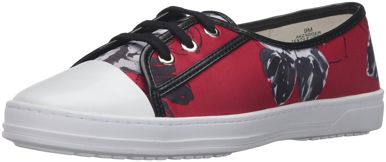 Anne Klein AK Sport Women's Zagger Fashion Sneaker B01DTVCLEE 5.5 B(M) US|Red/Multi