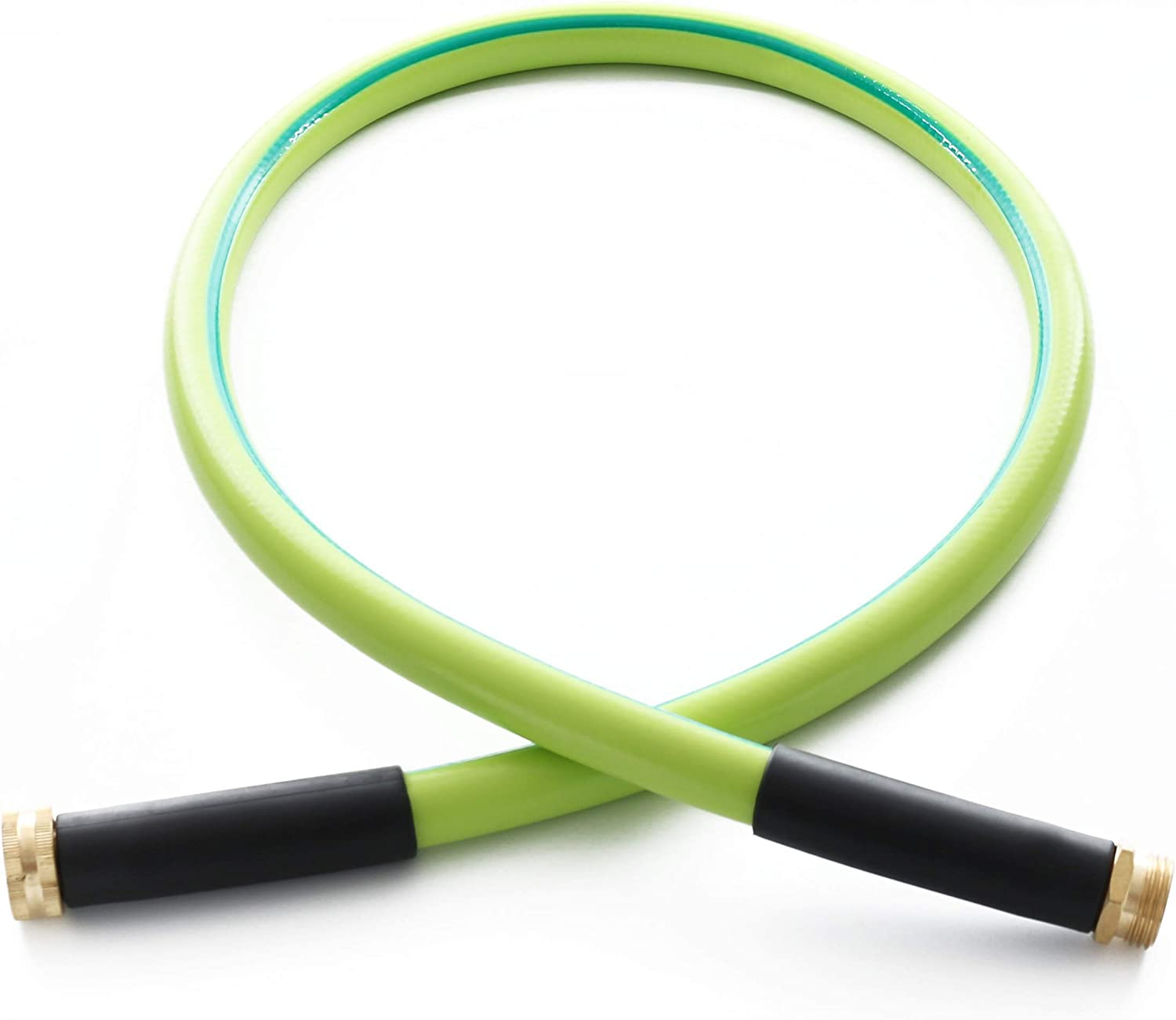 Atlantic Premium Hybrid Garden Hose 5/8 IN. x 4 FT. Working Under -4°F, Light Weight and Coils Easily, Kink Resistant,Abrasion Resistant, Extreme All Weather Flexibility (4 FT)