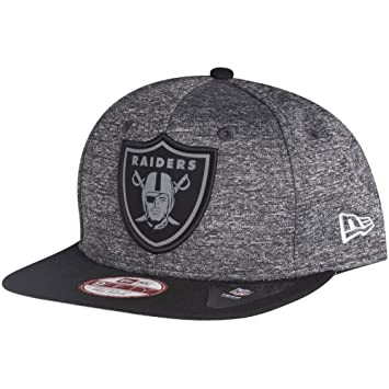 NFL Oakland Raiders Grey Collection 9Fifty Snapback (New Era) (S-M ... b1653f213
