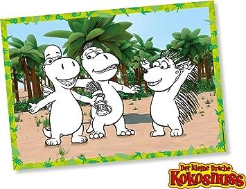 DH-Konzept: 8 manteles Individuales * El pequeño dragón Coco ...