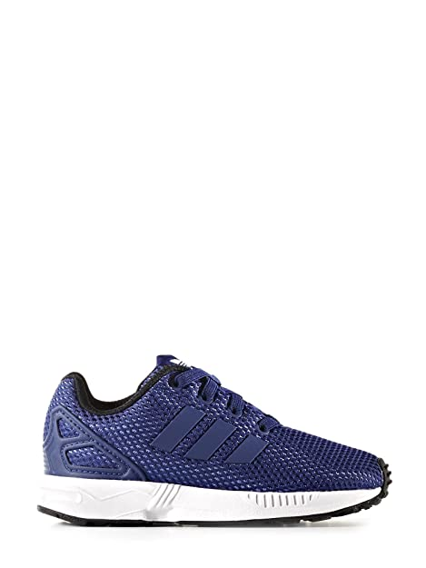 new style f42e9 89bc8 Adidas - Adidas ZX Flux El I Scarpe Sportive Bambino Blu Tela - Blu, 19