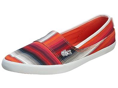 ac3b121b8 Lacoste Marice TRO - Orange Orange Slip-On Sneaker - Size  10