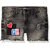 Calvin Klein 女童牛仔短裤
