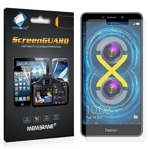 3 opinioni per 3 x Membrane Huawei Honor 6X- Pellicola Protettiva- [Clear Trasparente]