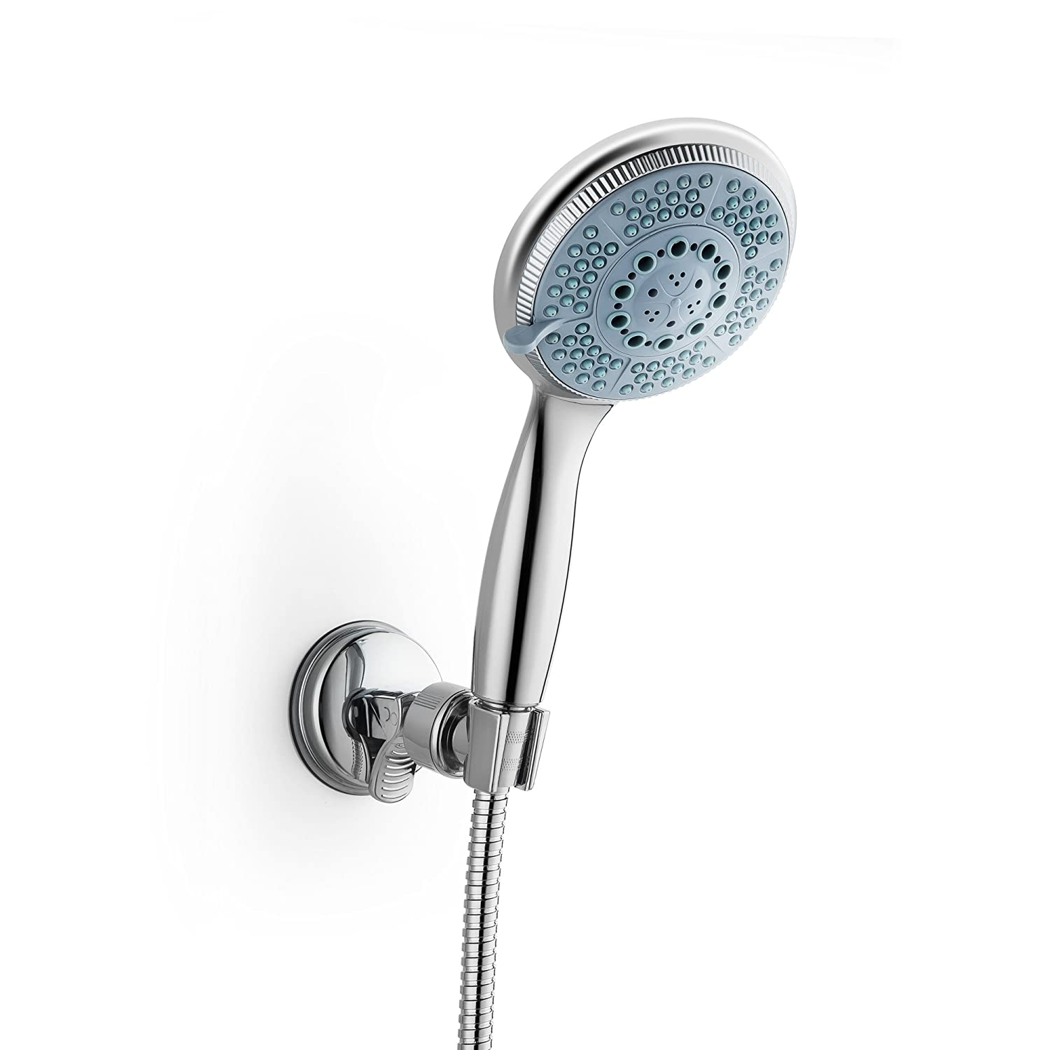 Shower Head, Handheld Shower Head With Powerful Shower Spray, Extra Long Stainless Steel Hose CBT