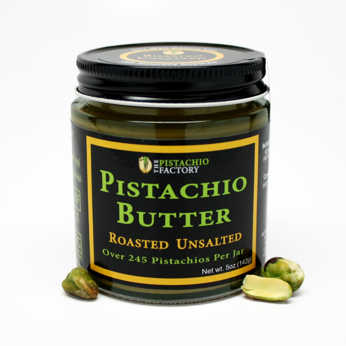 Amazon.com : Pistachio Butter - Raw Unsalted : Grocery ...