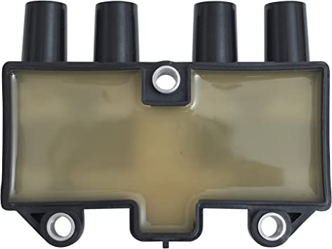 Ignition Coil Pack Replacement for Chevrolet Aveo Optra Pontiac Wave Suzuki Forenza Swift Reno Forza L4 2.0L UF503 C1480 124EAA31 19005265 3341084Z00