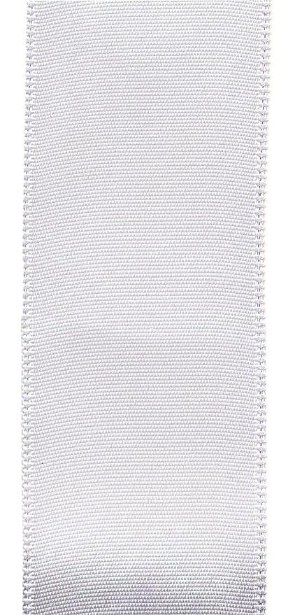 Amazon Offray Berwick 225 Single Face Satin Ribbon White 25