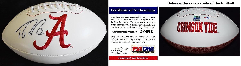 Trent Richardson Signed - Autographed Alabama Crimson Tide Football - 2009 National Champion - Certificate of Authenticity (COA) - PSA/DNA Certified Real Deal Memorabilia