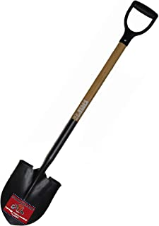 product image for Bully Tools 72510 14-Gauge Round Point Shovel with American Ash D-Grip Handle