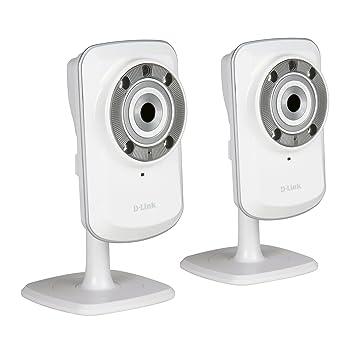 D-Link DCS-932L-TWIN - Kit 2 cámaras WiFi y Ethernet videovigilancia