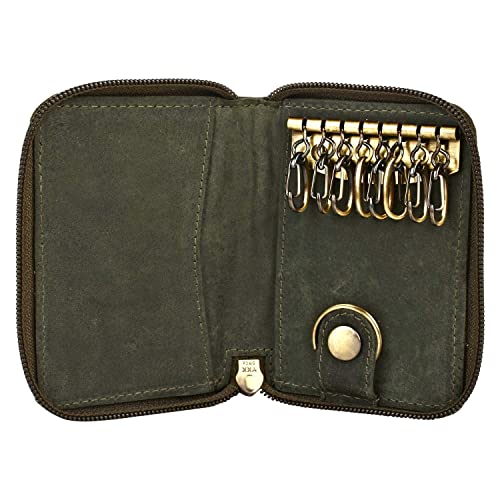 GENUINE LEATHER KEY HOLDER - Key Pouch - FOB Pouch for Car Keys - Gift for 17cba32f0f
