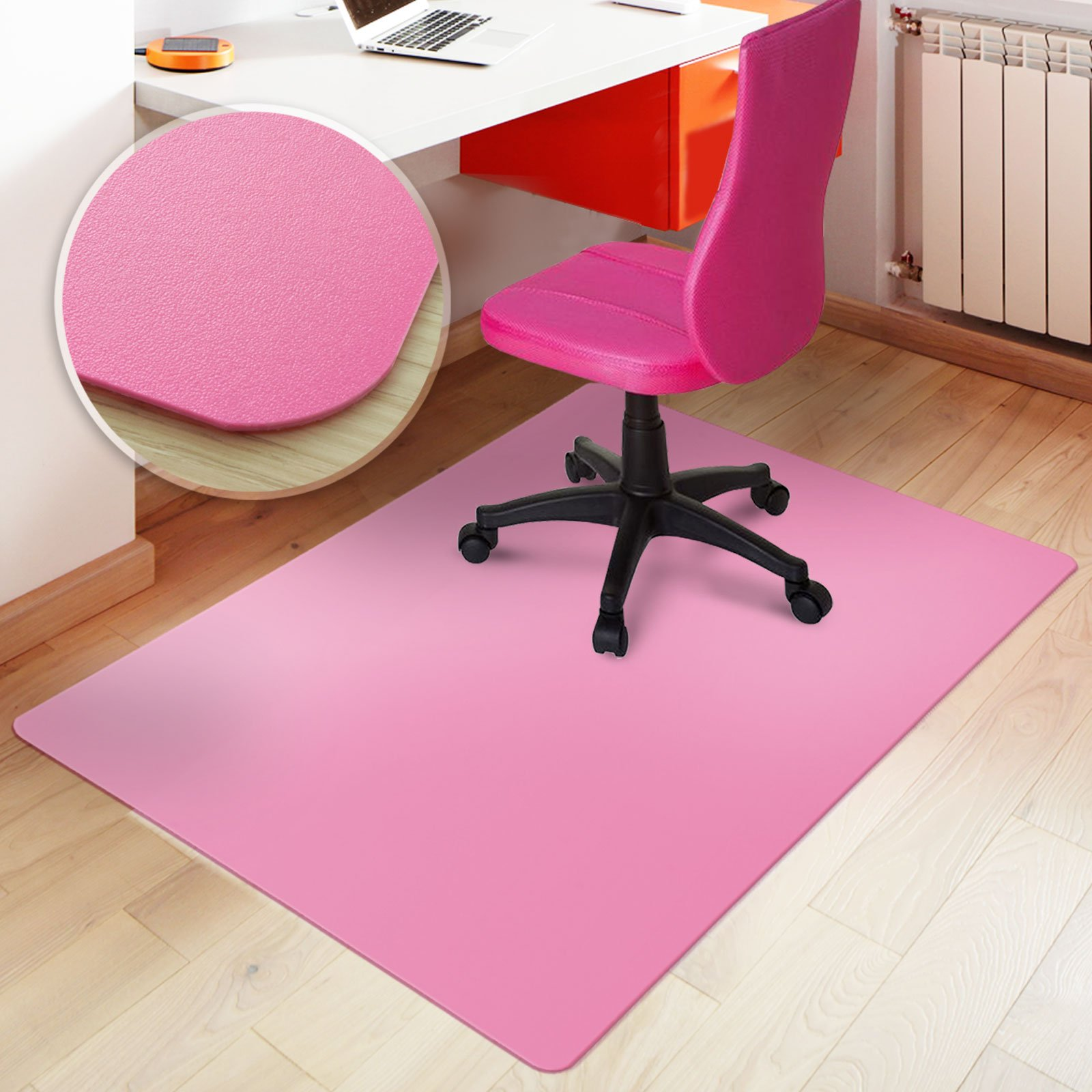 Desk Chair Floor Mat Carpet Protector Hard Plastic Rug PVC puter