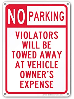 photograph regarding Printable No Parking Sign identify No Parking Do Not Block Driveway Tow Zone Indication - 14\