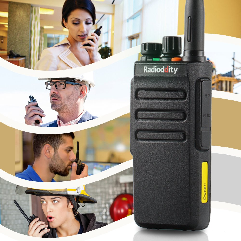Radioddity GD-77S DMR Dual Band Two Way Radio Digital/Analog 136-174/400-470MHz Walkie Talkie 1024CH, Voice Prompt, For Commercial Use by Radioddity (Image #5)