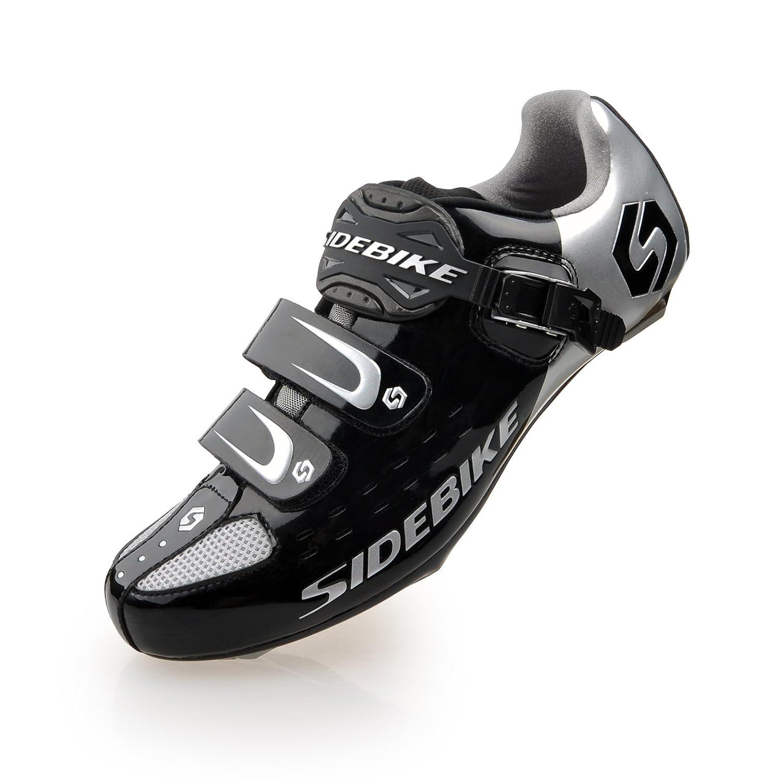 TXJ Unisexe Respirant Chaussures de vélo Professionnels pour Route ou VTT