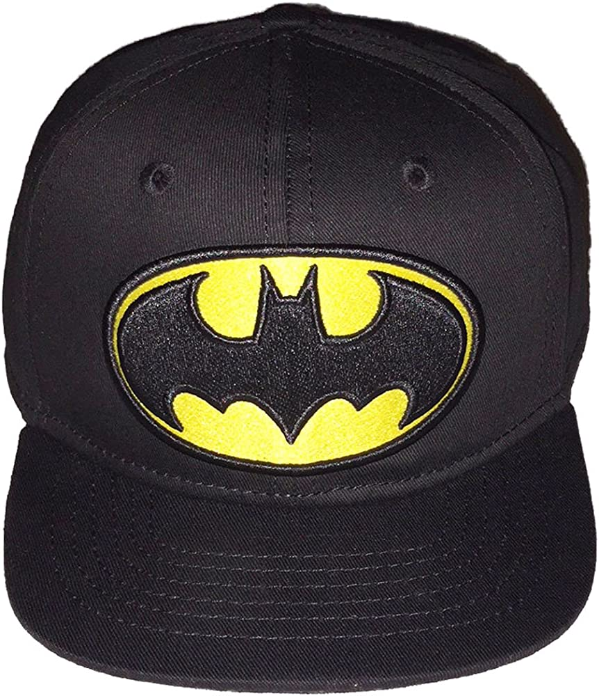 detailed look b91cb c7d0c Berkshire Fashions DC Comics Batman Little Boys Baseball Hat Cap ,Black,Toddler