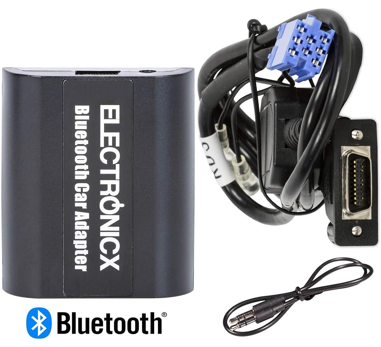 Adaptador de radio para coche auto carro manos libres bluetooth controlador de radio desde el volante AUX MP3 CD Peugeot CITROEN