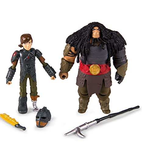 Amazon dreamworks dragons how to train your dragon 2 viking dreamworks dragons how to train your dragon 2 viking warrior two pack hiccup ccuart Gallery