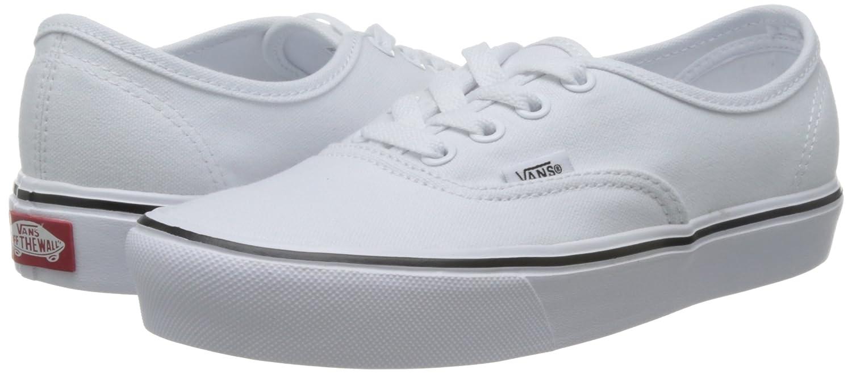 909fa4126981c4 Zapatillas de skate Vans Unisex Authentic Lite (Canvas) True White