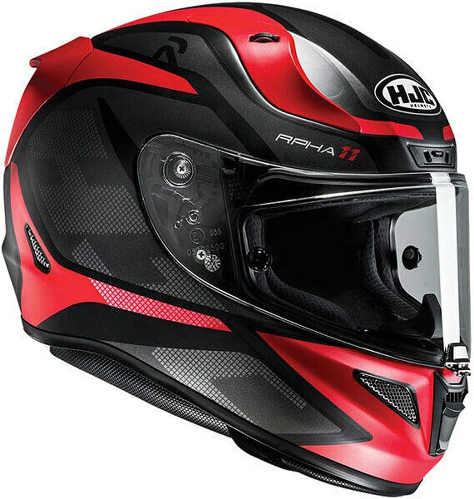 HJC RPHA 11/deroka Motorrad Full Face Helm Erwachsene Motorrad Roller Sport Touring Dot ECE bef/ürworten Carbon Fiber Helm Rot