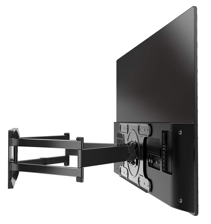 Porta Tv Da Parete Meliconi.Colore Nero Meliconi Supporto Tv Da Parete Oled Sdr Con Doppio