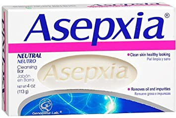 Bar Soaps 6 Pack Asepxia Neutral Cleansing Bar 4 Oz Health & Beauty