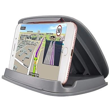Soporte de teléfono celular para coche, soportes de GPS en vehículo para iPhone Samsung LG