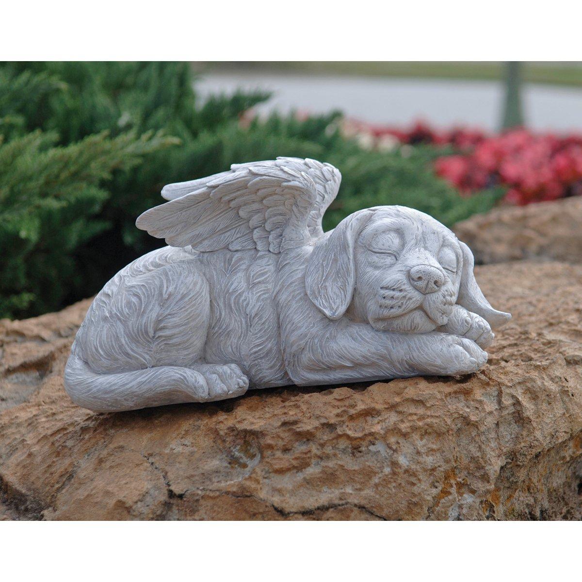 Amazon.com : Design Toscano Dog Memorial Angel Pet Statue : Outdoor Statues  : Garden U0026 Outdoor