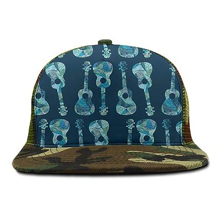ab1c00e0f Amazon.com: Youth Flat Brim Hip Hop Adjustable Hat Stylish Snapback ...