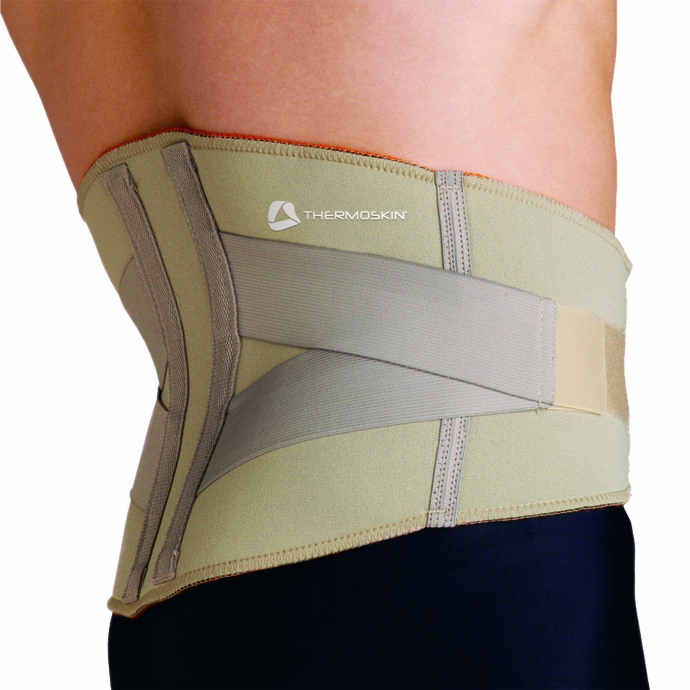Thermoskin Lumbar Back Support, Beige, X-Small