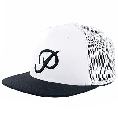 Primitive Apparel  quot Classic P Mesh quot  Snapback Hat (White Black) SU16 e0fc45cebc1