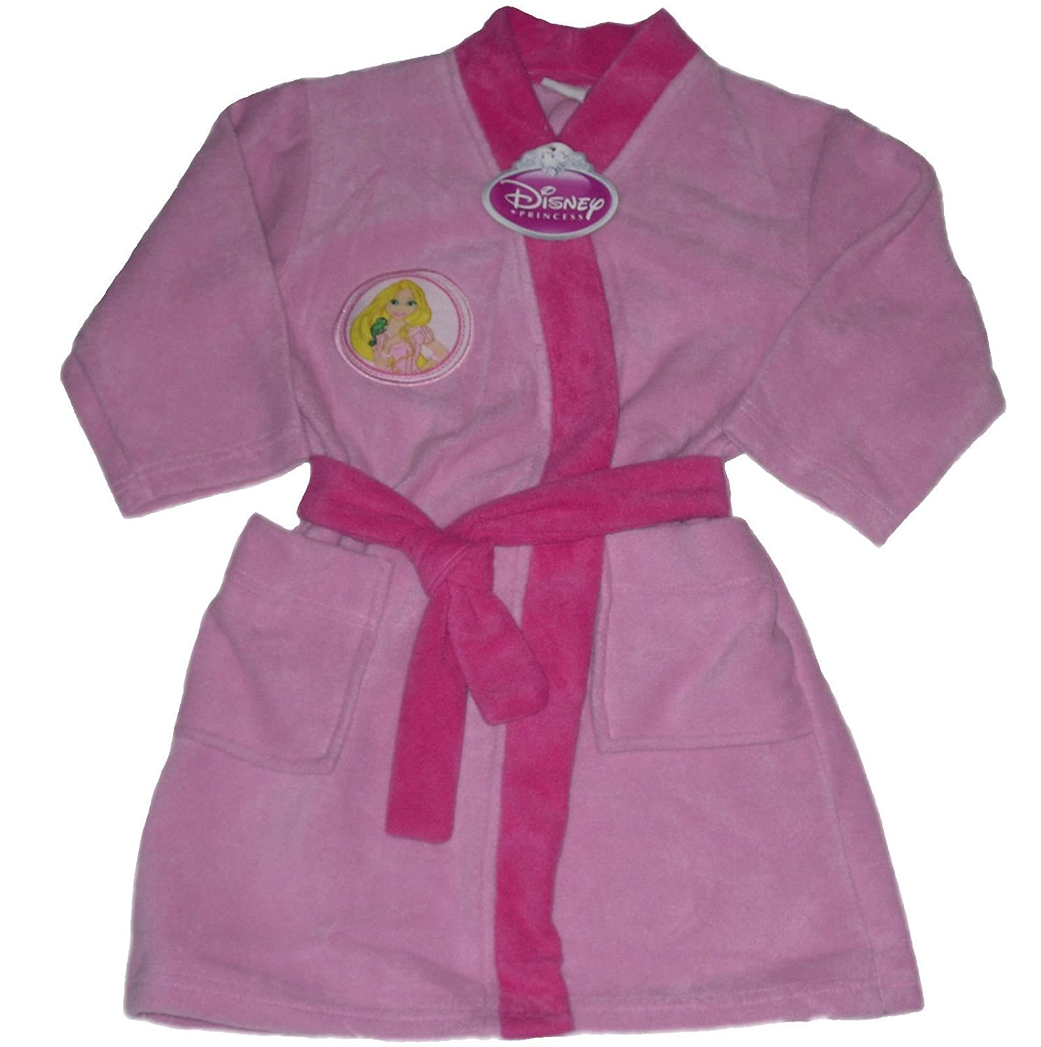 DISNEY PRINCESS GIRLS DRESSING GOWN ROBE RAPUNZEL