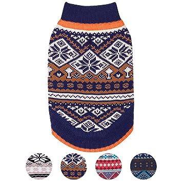 Amazon.com : Blueberry Pet 4 Patterns Nordic Pattern Inspired Fair ...