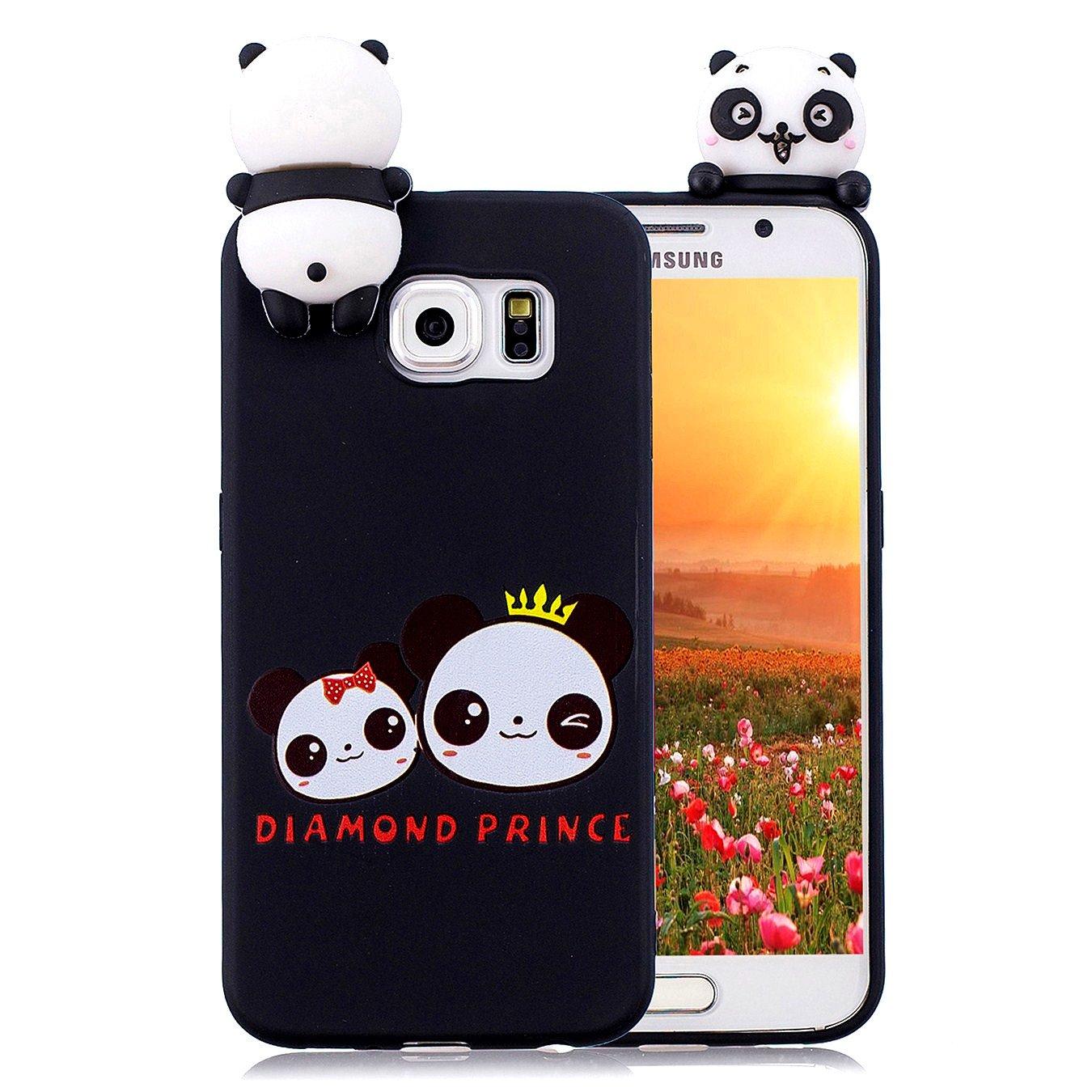 Nicht f/ür S6 Hancda H/ülle f/ür Samsung Galaxy S6 Edge Schutzh/ülle Handyh/ülle Silikon H/ülle Case Cover Gummi Silikonh/ülle TPU Ultra D/ünn Weich Case Handytasche f/ür Samsung Galaxy S6 Edge,05 Design