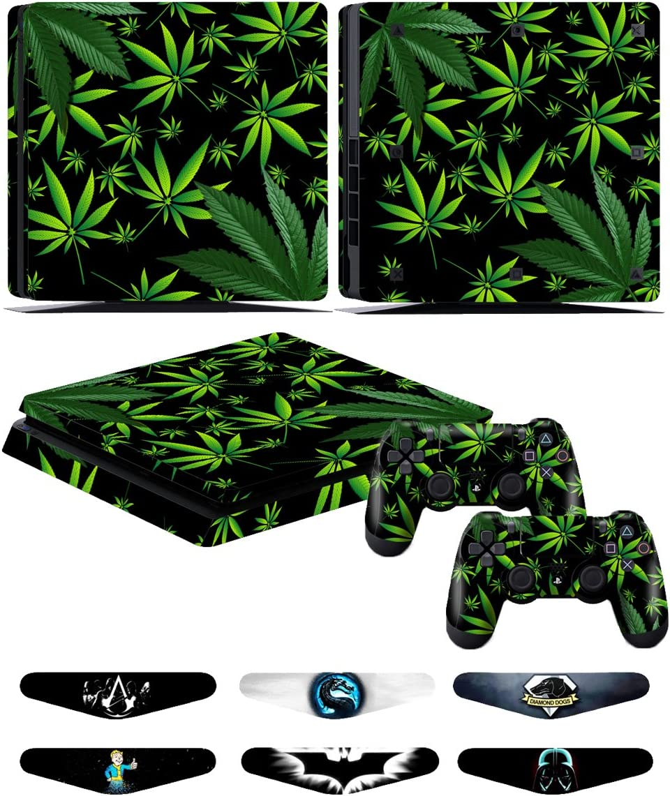 Amazon com: PS4 Slim Controller Skins- Decals for